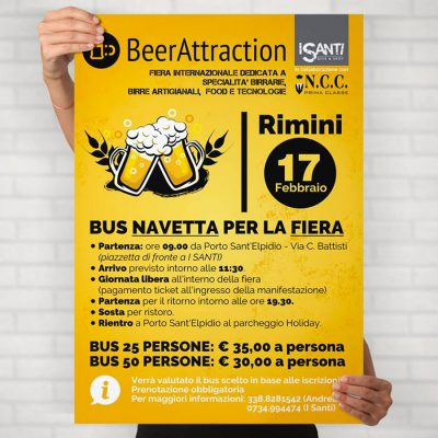 BeerAttraction - Grafica Manifesti